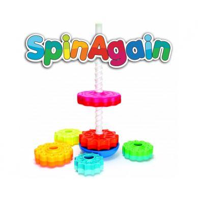 Fat Brain Toys - Zakręcona Wieża SpinAgain
