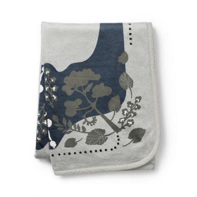 Elodie Details  - Kocyk Pearl Velvet Rebel Poodle Mineral Green