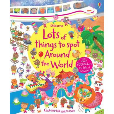 Wydawnictwo Usborne Publishing - Lots of Things to Spot Around the World