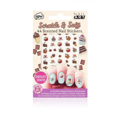 NPW ROW - Naklejki na Paznokcie  Chocolate Scratch & Sniff