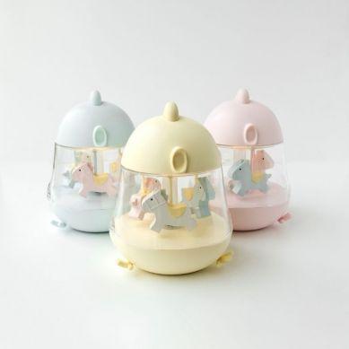 Rabbit&Friends - Lampka z Pozytywką Kurczaczek Róż