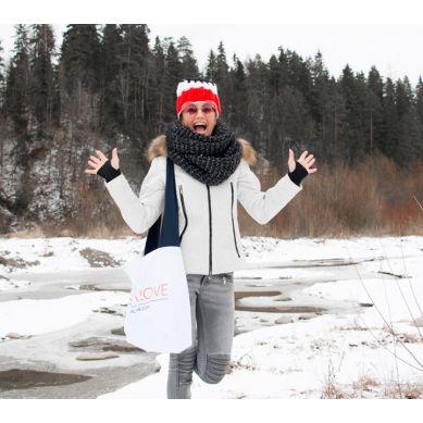 Lullalove - LullaBag Pojemna i Wygodna Torba Granatowa