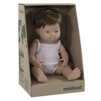 Miniland - Lalka Chłopiec Europejczyk 38cm DS