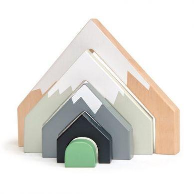 Tender Leaf Toys - Drewniane Akcesoria do Kolejki Górski Przejazd 3+