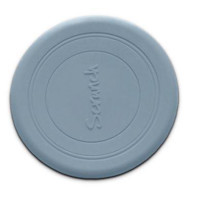 Scrunch - Zwijane Silikonowe Frisbee Błękitne