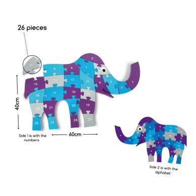 Buiten Speel - Puzzle Słoń