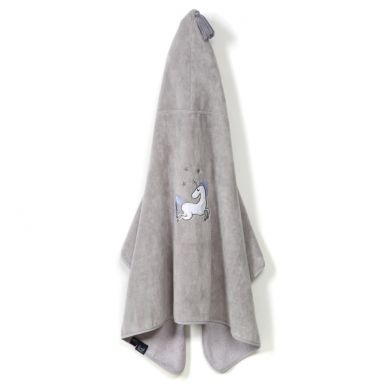 La Millou - Ręcznik Kąpielowy Bamboo Kid by Maja Bohosiewicz Grey Unicorn Rainbow Knight