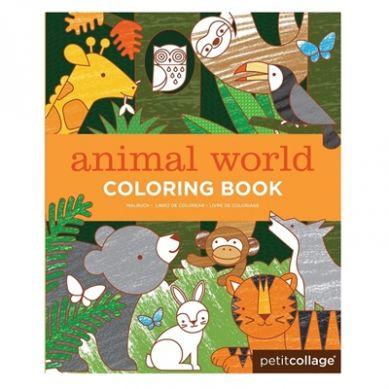 Petit Collage - Kolorowanka w Świat Zwierząt