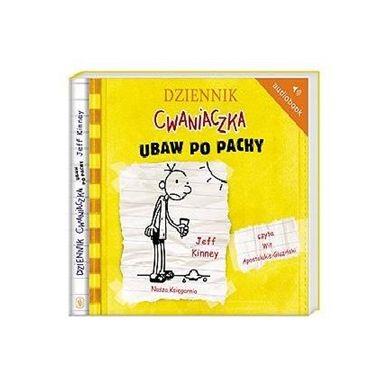 Wydawnictwo Nasz Księgarnia - Audiobook Dziennik cwaniaczka Ubaw po Pachy