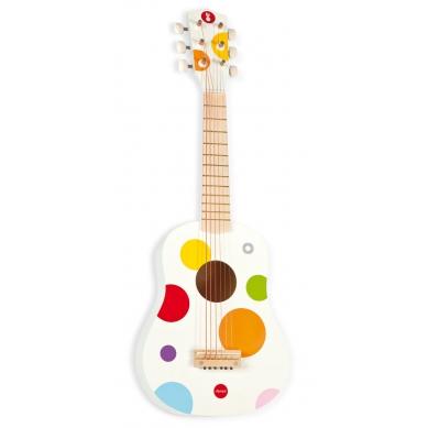 Gitara Biała Confetti Janod