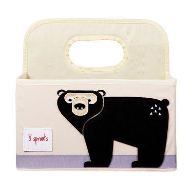 3 Sprouts - Organizer na Pieluszki Niedźwiedź