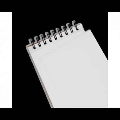 Ooly - Szkicownik z Okładką DYI - Biały Papier - Duży 3+