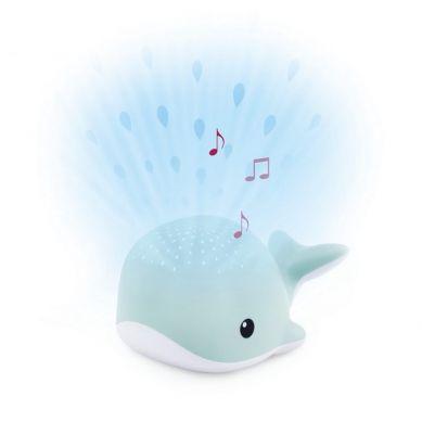 Zazu - Wally Projektor Wieloryb Blue