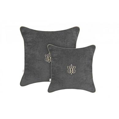 Caramella - Duża Poduszka Anthracite Gloss 50x50cm