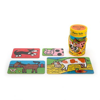 Jellycat - Puzzle Farm Tail