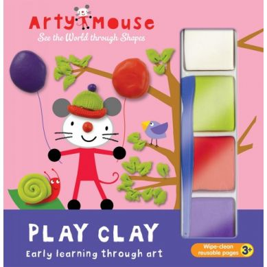 Wydawnictwo Usborne Publishing - Arty Mouse Play Clay