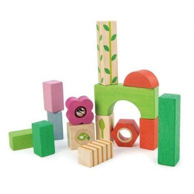 Tender Leaf Toys - Drewniane Klocki Zestaw dla Najmłodszych 18m+