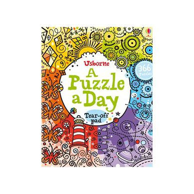 Wydawnictwo Usborne Publishing - A Puzzle a Day