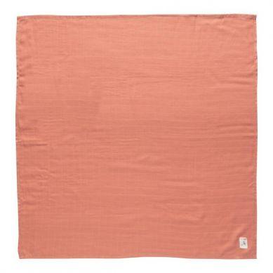 Bebe-Jou - Otulacze Bambusowo-Muślinowe 3szt. Wish Pink 70x70cm