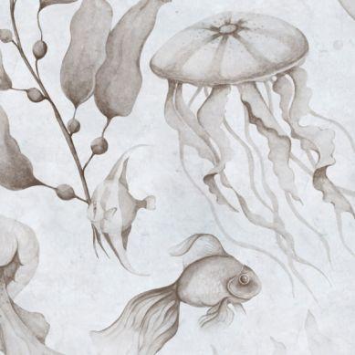 Dekornik - Tapeta Magia Oceanu Vintage Small