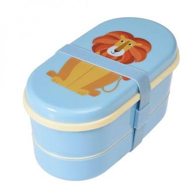 Rex - Dwupoziomowy Lunchbox Lion