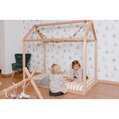Childhome - Sofa Pojedyncza Velvet Green