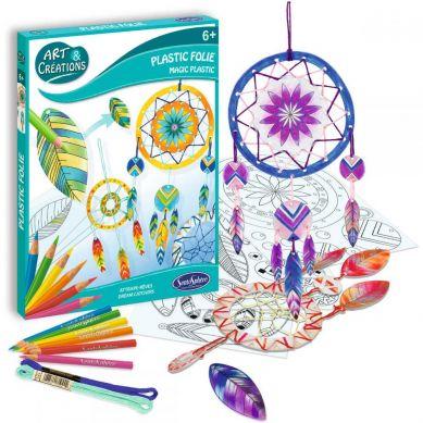 SentoSphere - Magiczny plastik Łapacz Snów zestaw kreatywny