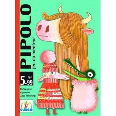 Djeco - Gra Karciana Pipolo-blef