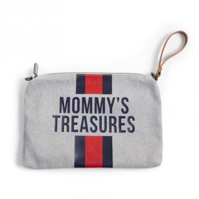 Childhome - Torebka Mommy's Treasures Paski Torebka Mommy's Treasures Paski Granatowo-Czerwone