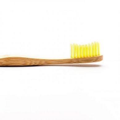 Humble Brush - Bambusowa Szczoteczka do Zębów dla Dorosłych Medium Żółta