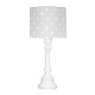 Lamps&co. - Lampa Stojąca Lovely Dots Grey ze Ściemniaczem