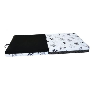Candide - Wielofunkcyjna Mata 3w1 Black&White