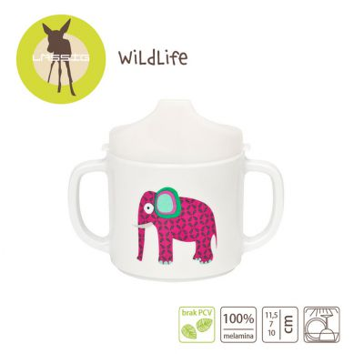 Laessig - Kubek z Melaminy Wildlife Słoń