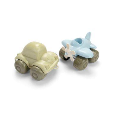 Dantoy - Bio Pojazdy Zestaw 2szt Samolot i Garbus