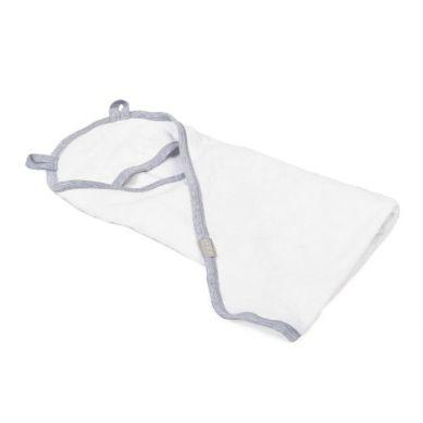 Poofi - Ręcznik z Kapturkiem 90x90cm Szary