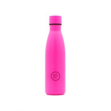 Cool Bottles - Butelka Termiczna 500 ml Triple Cool Neon Pink