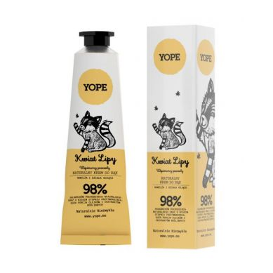 YOPE - Krem do Rąk Kwiat Lipy 50ml