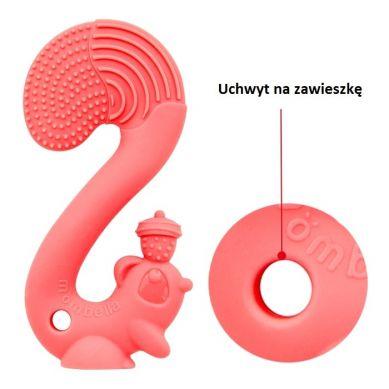Mombella - Gryzak Zabawka Squirrel Red
