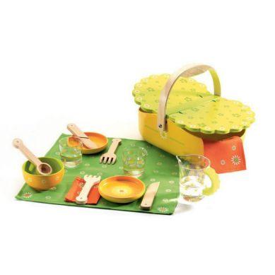 Djeco - Drewniany Z Kosz Piknikowy