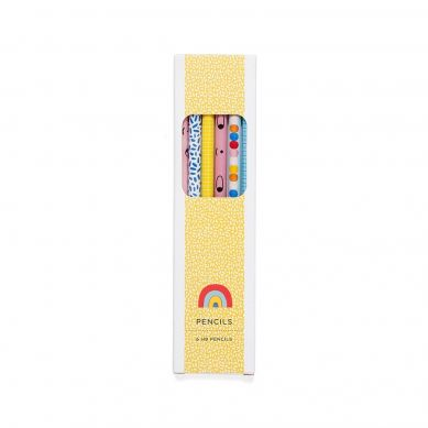 Petit Monkey - Zestaw Ołówków HB 6szt