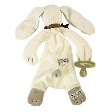 Maud'N'Lil - The Bunny Comforter Organiczny Mięciutki Pocieszyciel Ears