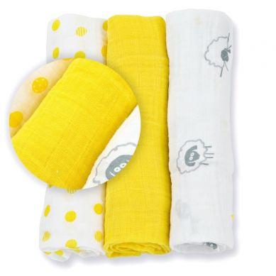Lulujo - Mini Pieluszki Sunshine Yellow