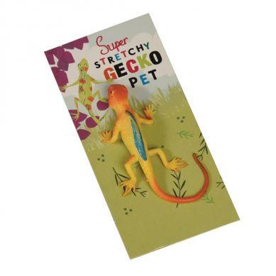 Rex - Gumowy, rozciągliwy Gecko Yellow