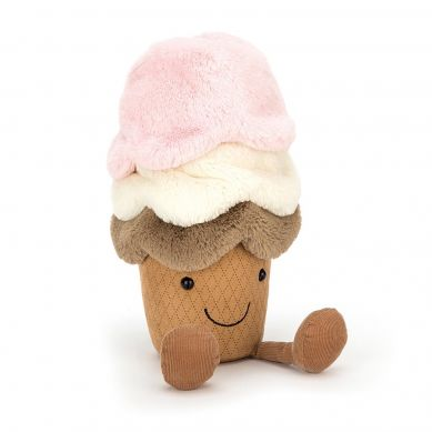 Jellycat - Przytulanka Amuseable Ice Cream 29cm