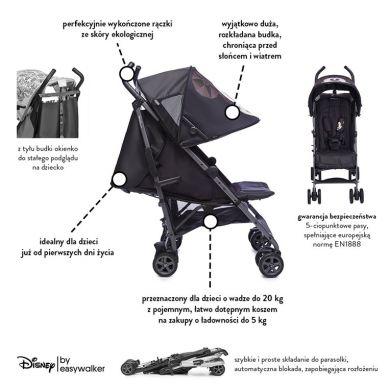 Disney by Easywalker - Wózek Spacerowy 6,5kg Mickey Diamond