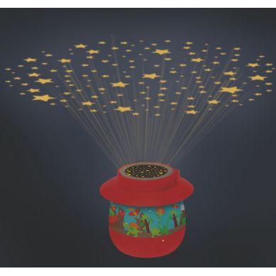 Scratch - Nocna Lampka Dino z Projektorem