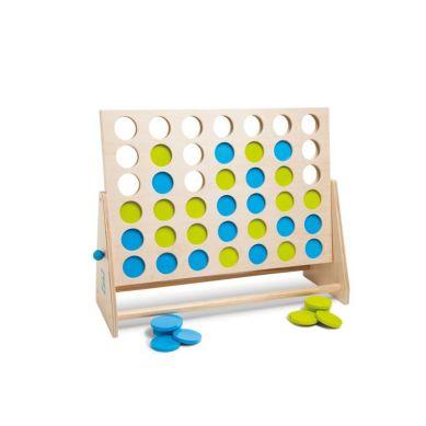Buiten Speel - Gra 4 w Rzędzie Niebiesko-Zielone XL