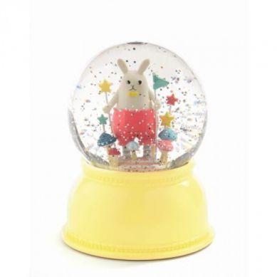Djeco - Lampka Kula Śnieżna Little Rabit