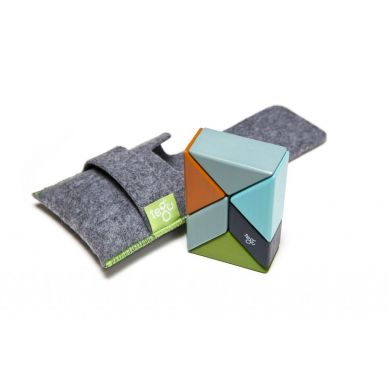 Tegu - Drewniane Klocki Magnetyczne Pocket Pouch Prism Nelson