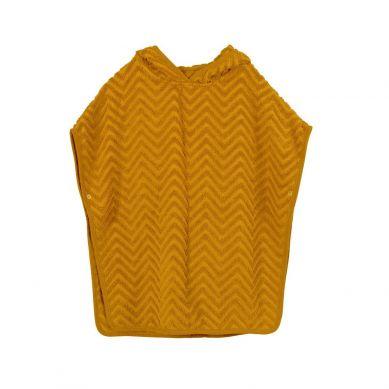 Filibabba - Poncho Zigzag Golden Mustard